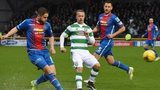 Inverness Caledonian Thistle and Celtic players