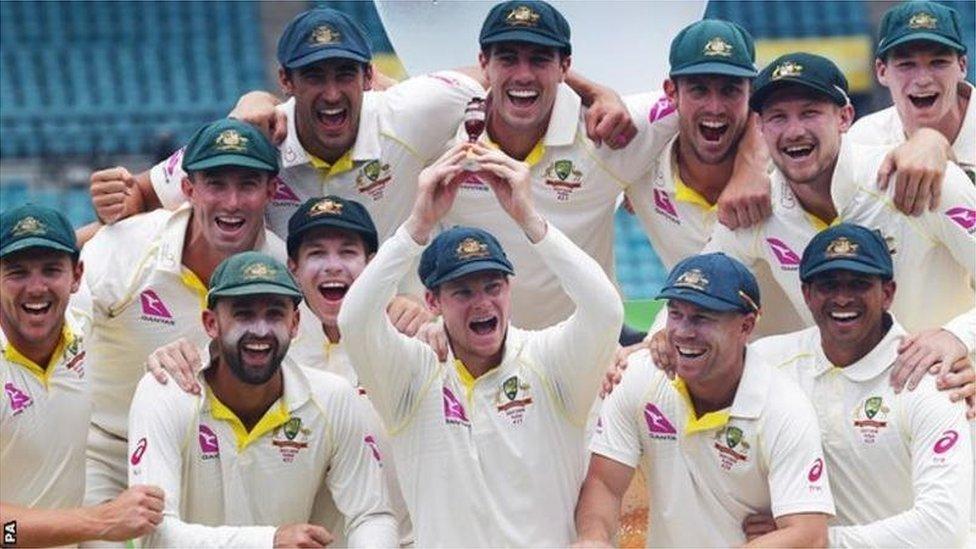 ایشز: آسٹریلیا انگلینڈ کے خلاف آٹھ میں سے سات سیریز میں فاتح