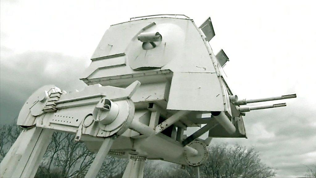 Star Wars AT-ST stalks Devon and other technology news