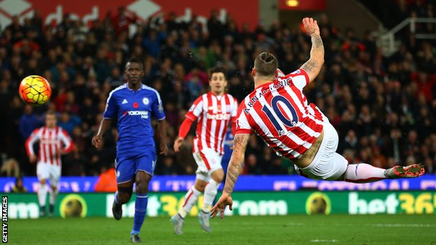 Chelsea បានដាក់ជើងខ្លាំងអស់ហើយ នៅតែចាញ់ Stoke City ទៀត (Video Inside)