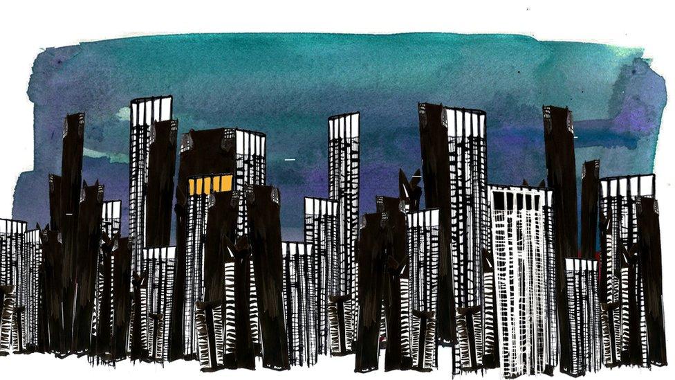 Ilustración de Sao Paulo