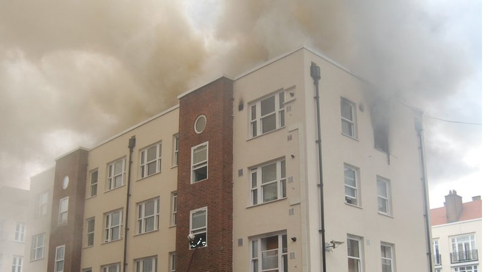 Bethnal Green fire: One home destroyed and one man in hospital