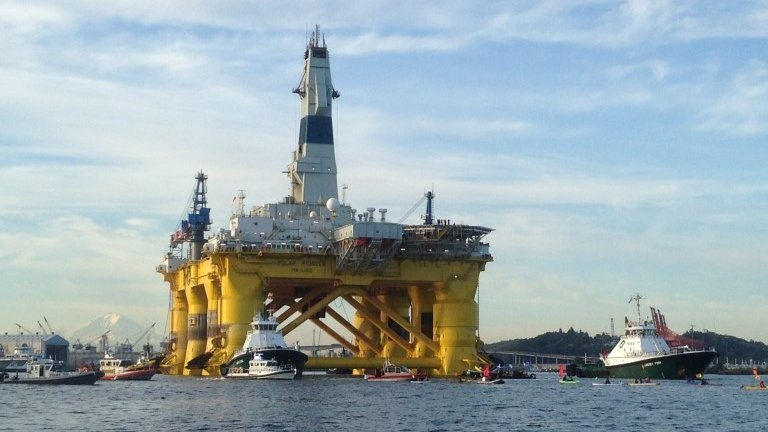 Oil and gas giant Shell is expected to begin drilling for oil in the Arctic within the next two weeks.