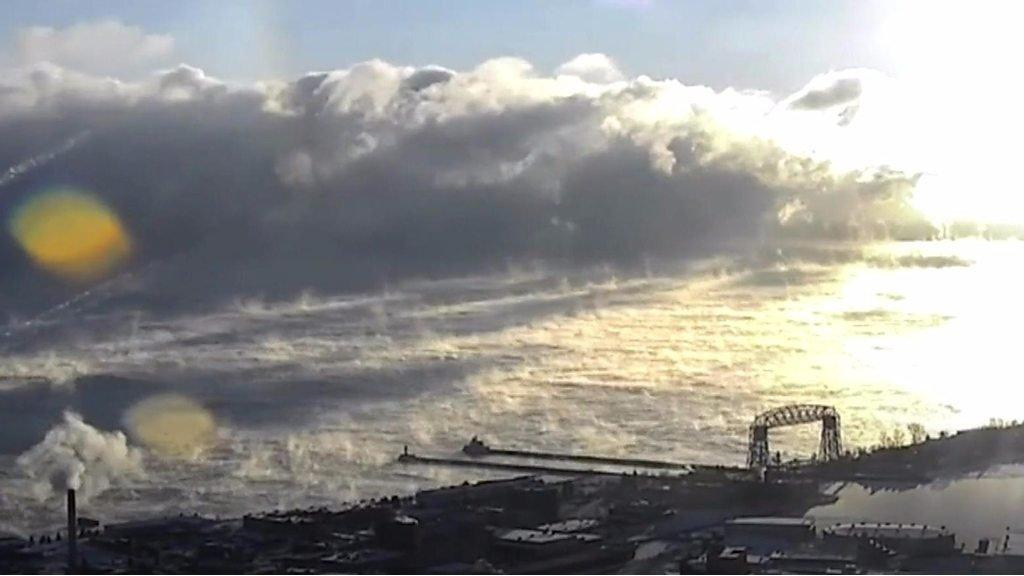 sea smoke lake superior