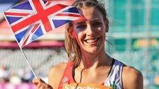 British high jump champion Isobel Pooley