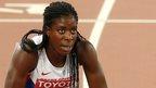 Ohuruogu comes last in 400m final