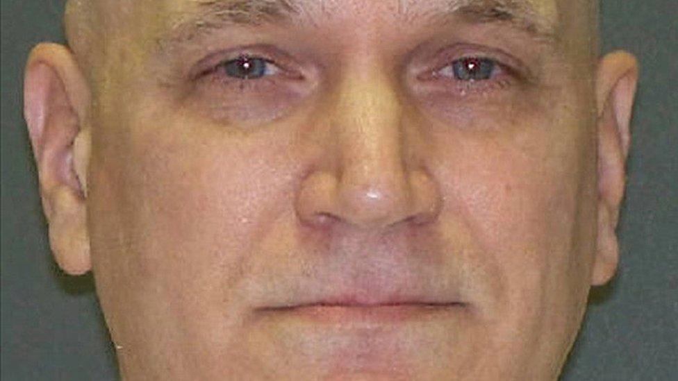 Texas killer dad John Battaglia taunts ex-wife at execution