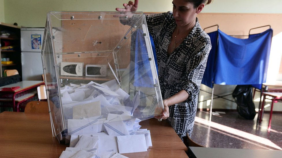 Polls close in a Greek referendum on the terms of an international bailout, a vote that may decide the country's future in Europe.