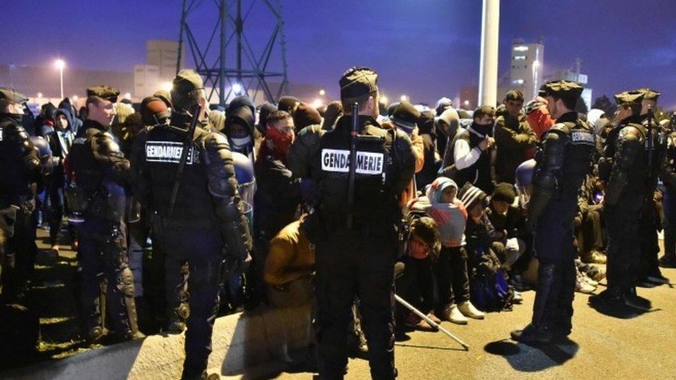 Calais migrants: 'Jungle' camp demolition set to begin