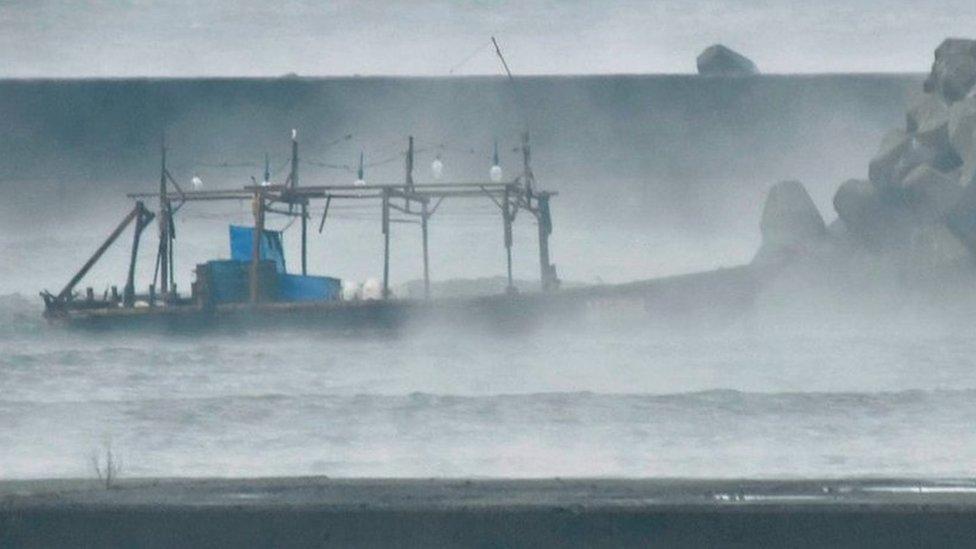 Eight 'North Korean fishermen' wash ashore in Japan