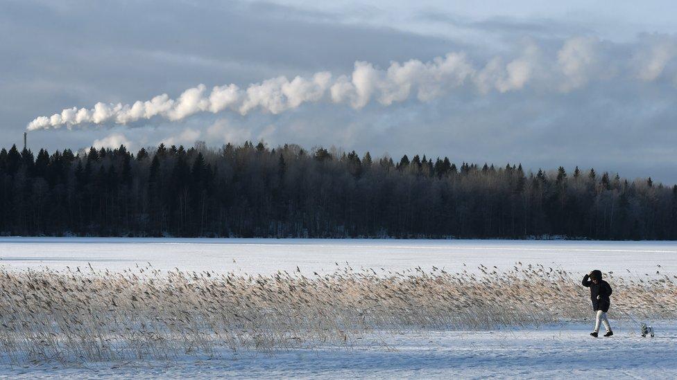 Lago en Lahti