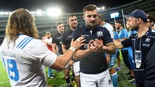 Rory Hughes enjoyed victory on his Scotland debut