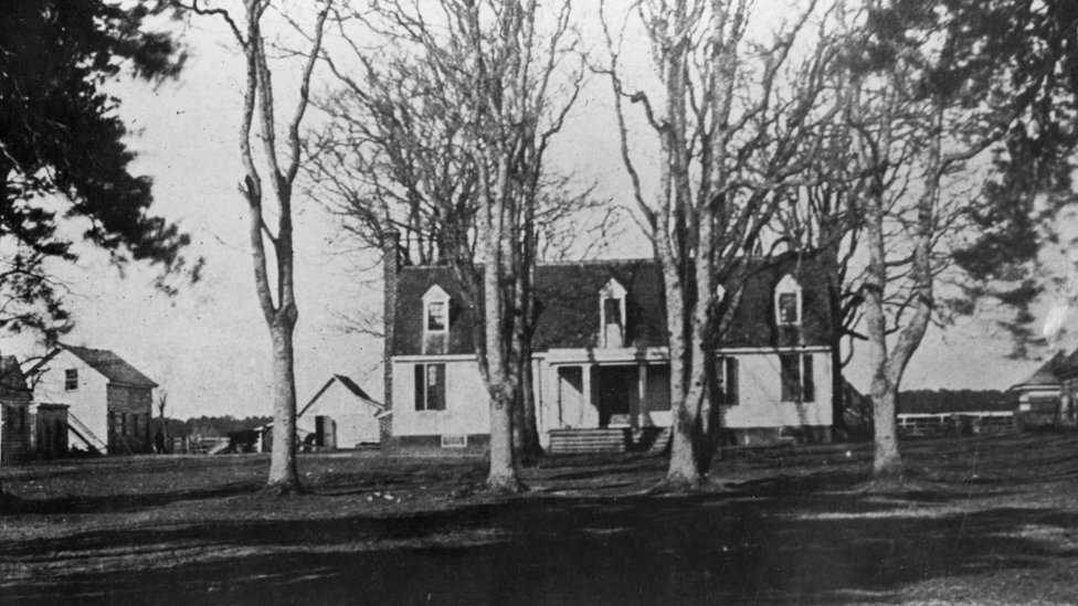 Casa donde nación John Tyler.