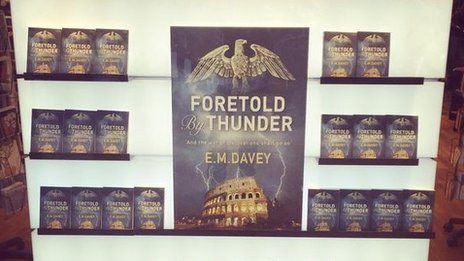 Foretold by Thunder in a bookshop