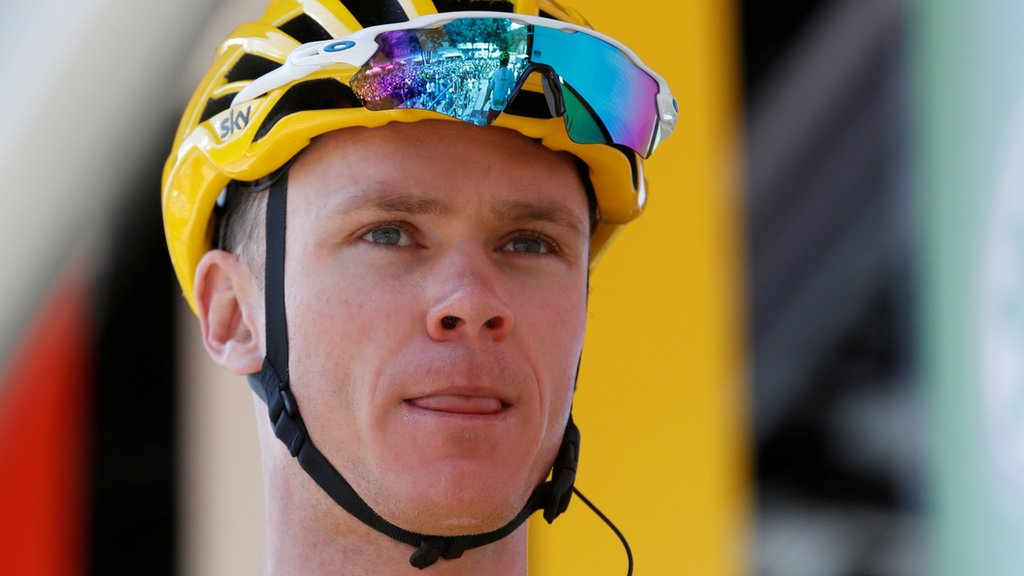 Froome takes big step towards Tour title - but victory 'not yet certain'