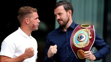 Billy Joe Saunders and Andy Lee