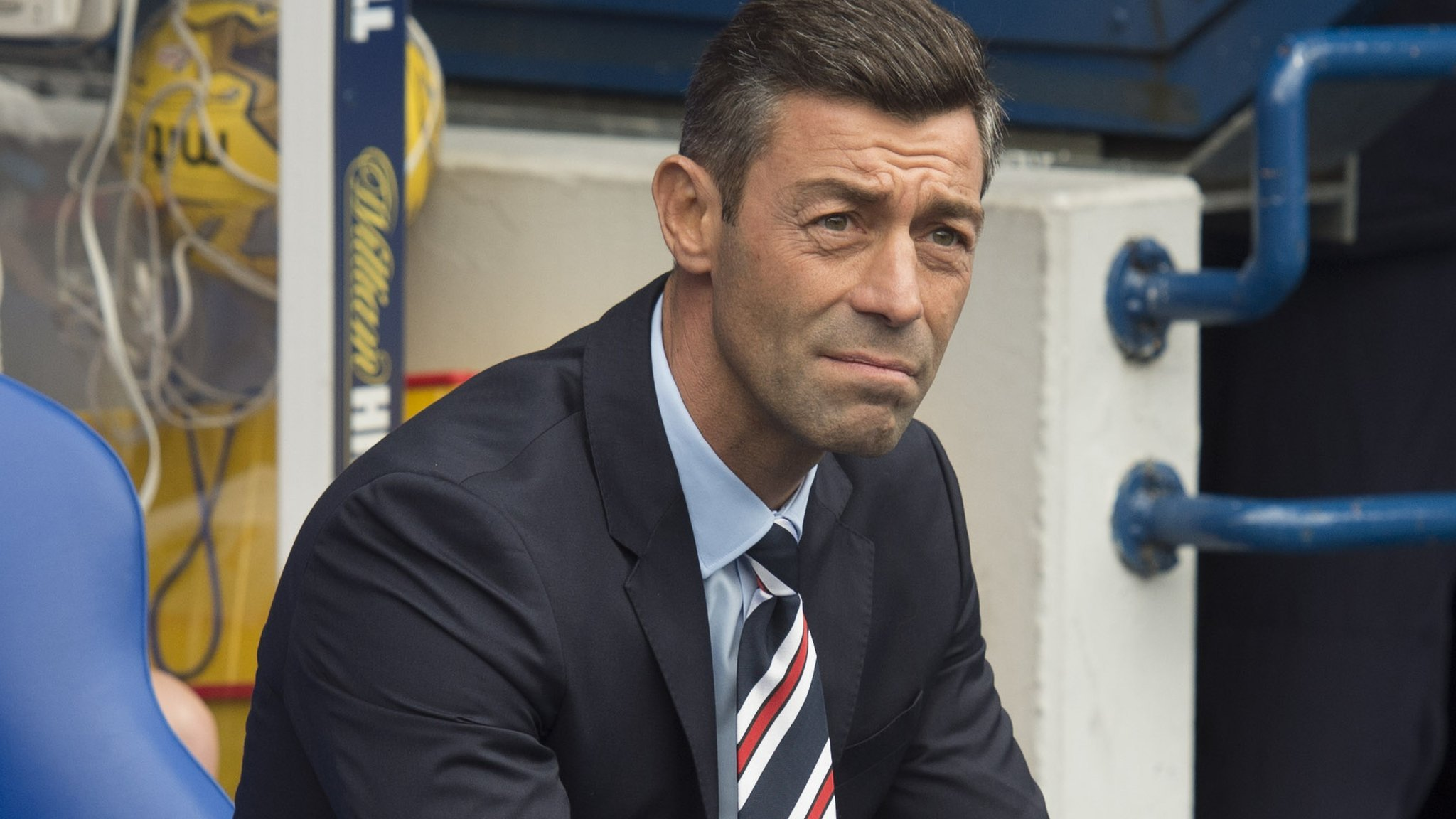 Rangers boss Caixinha takes blame for derby rout