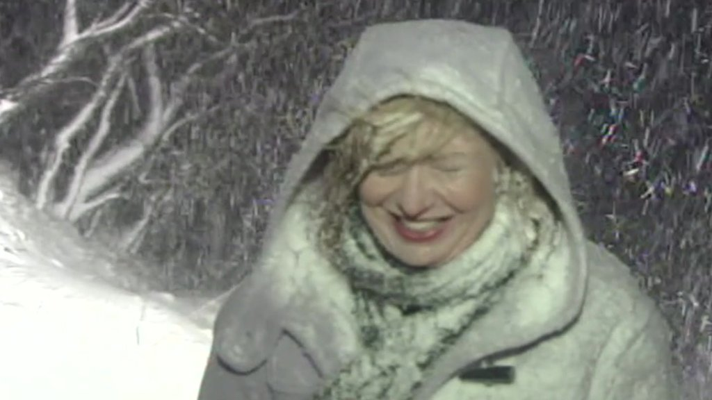 Rain, hail or shine: 20 years of weather with Carol Kirkwood