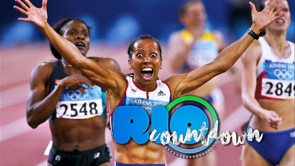 Rio countdown: Holmes double gold glory in Athens