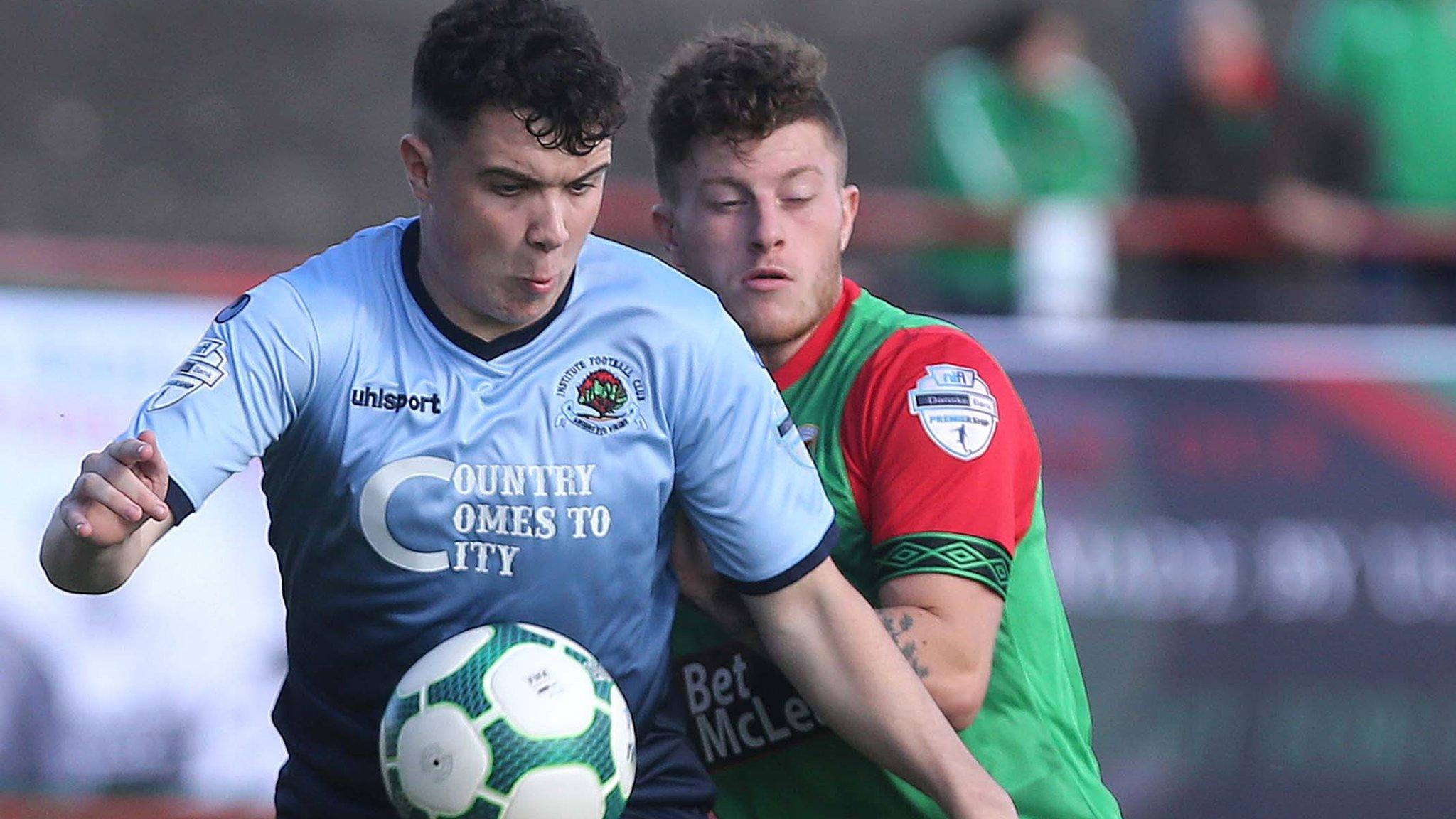 Irish Premiership: Uefa licences create three play-off scenarios