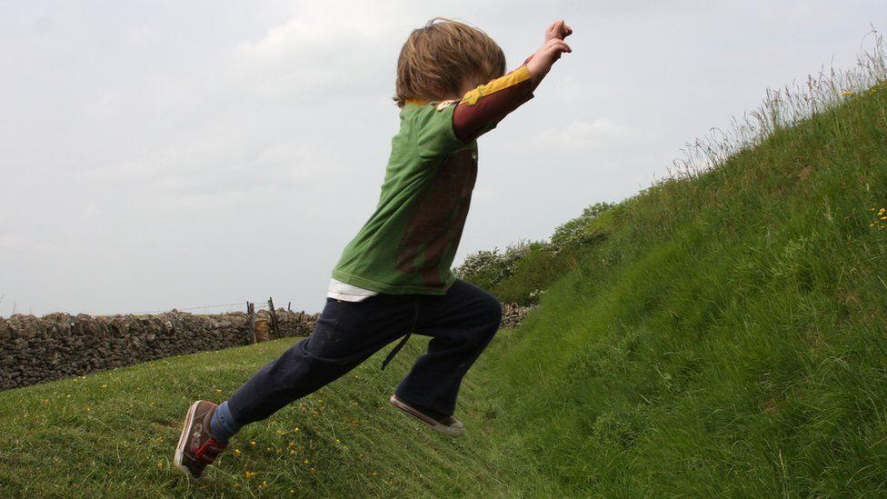 Anak-anak beraktivitas