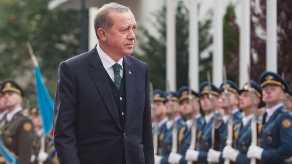 Ердоган до США: