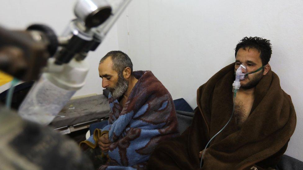 Korban serangan udara di Idlib