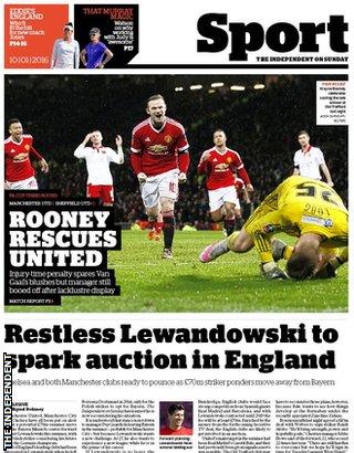 Today's newspaper gossip: Lukaku wants PSG move, Barca target Ramsey