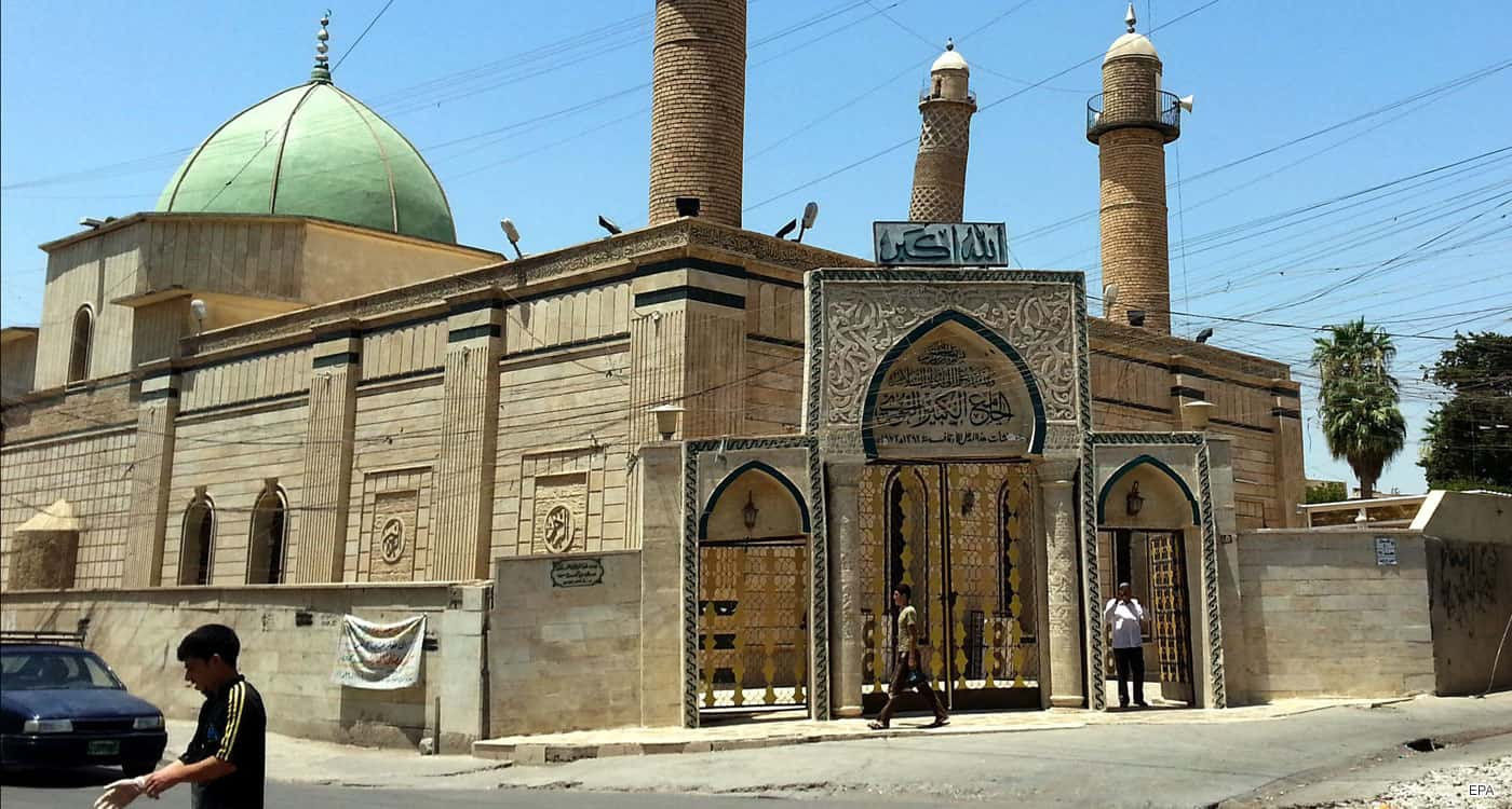 Great Mosque of al-Nuri in July 2014