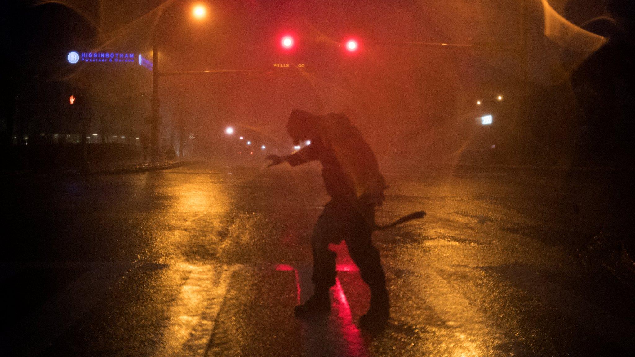 美國本土13年來最強颶風「哈維」衝擊德州