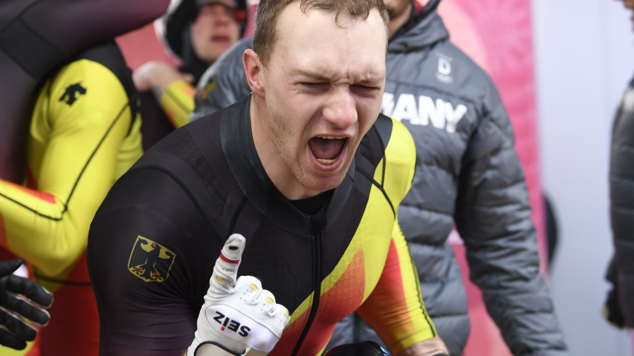 Friedrichs Germany win four-man bobsleigh as GB disappoint