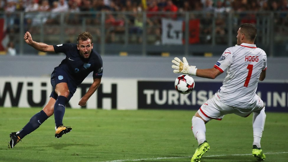Twitter 'dare' England v Malta pitch invader banned