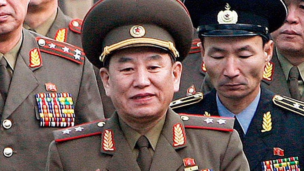 Kim Yong-Chol.