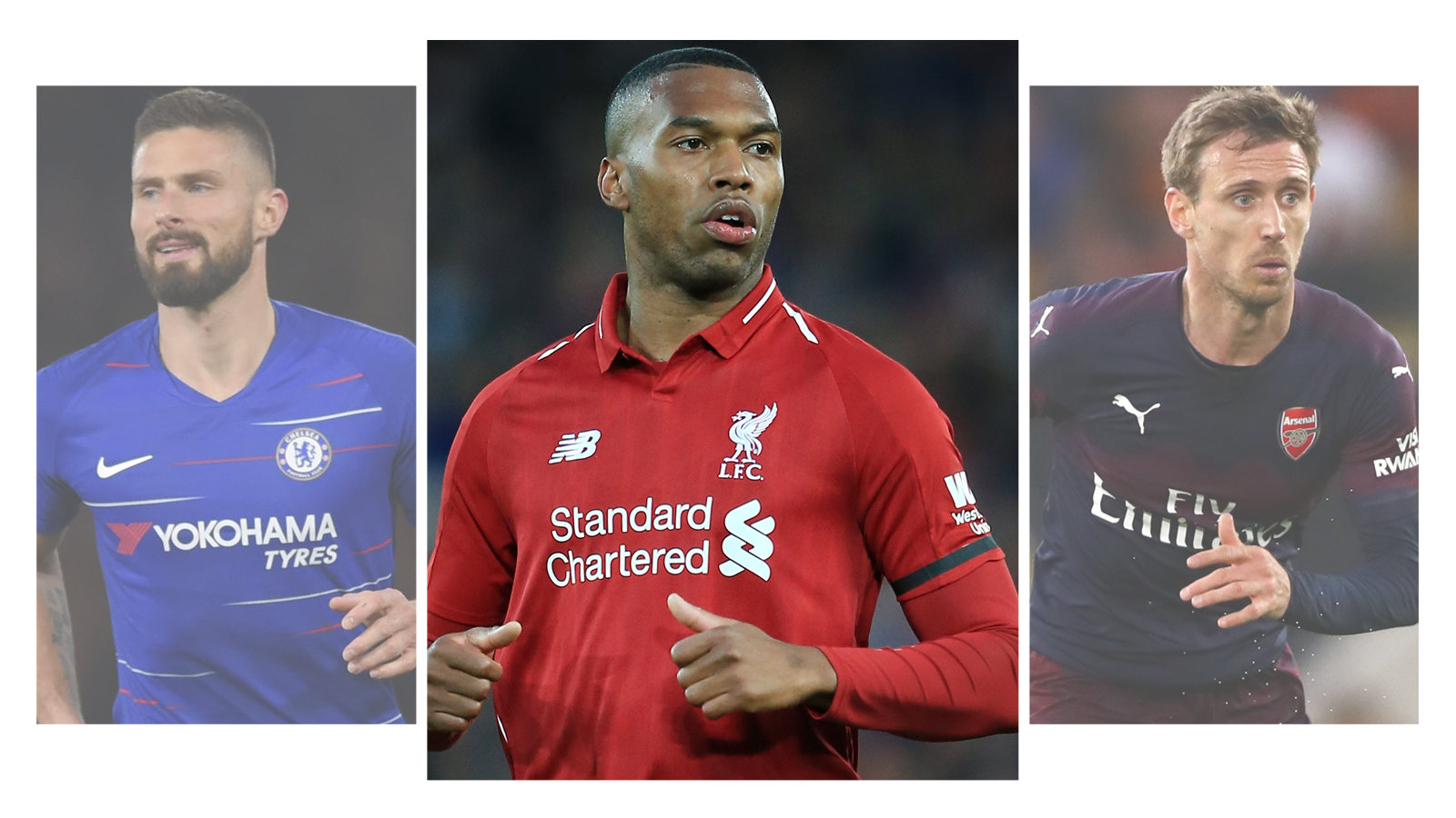 Premier League players out of contract this summer