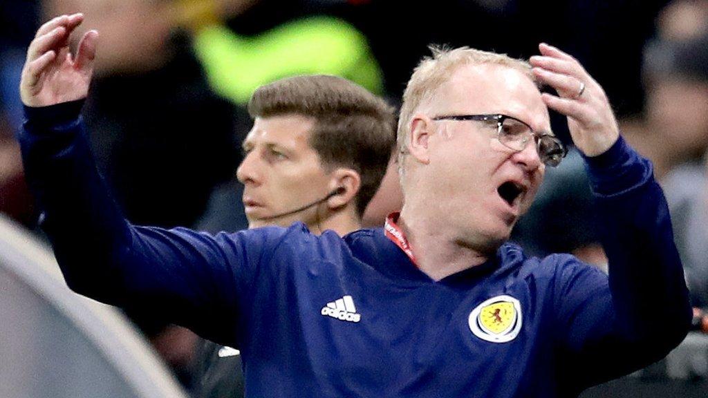 Kazakhstan 3-0 Scotland: Alex McLeish refuses to discuss future