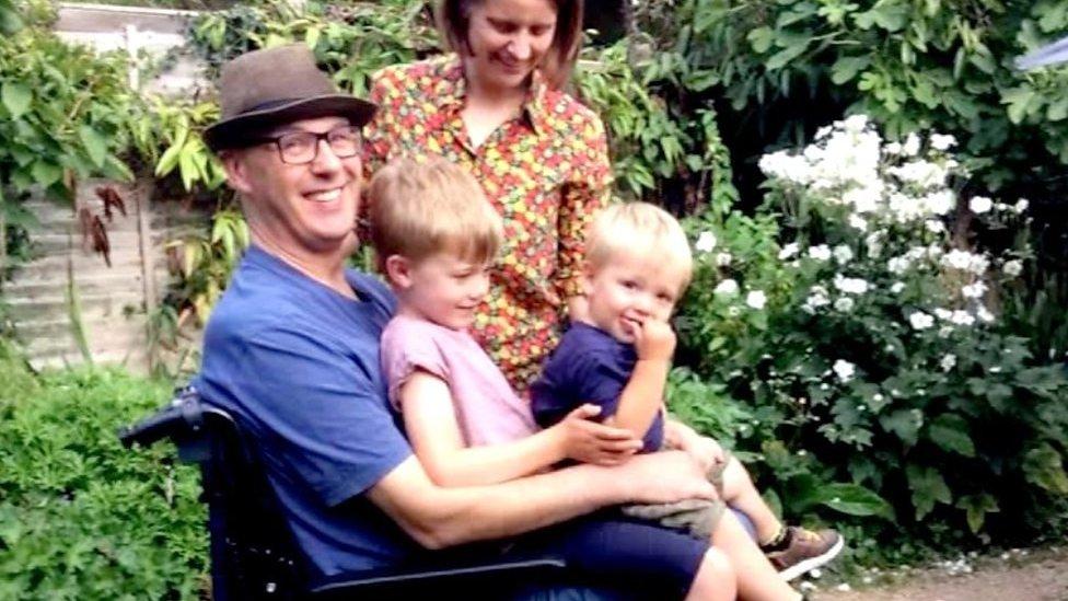 Motor neurone disease: Joe Hammond's birthday legacy for sons