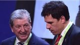 England manager Roy Hodgson and Wales boss Chris Coleman