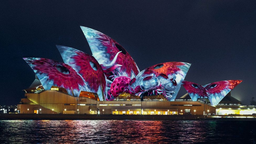 Imaginary creatures to light up Sydney Opera House