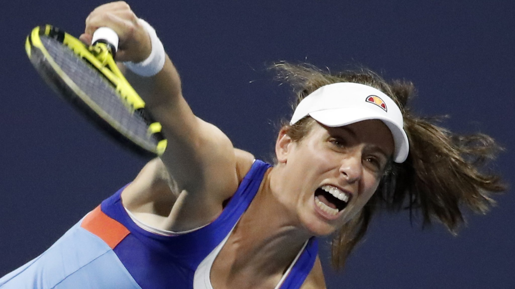 Johanna Konta into Miami Open second round after beating Jessica Pegula