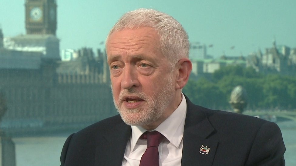 General election 2017: Corbyn quizzed on Trident and IRA
