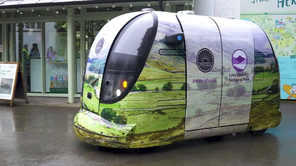 Self-driving pods for the Lake District and other news