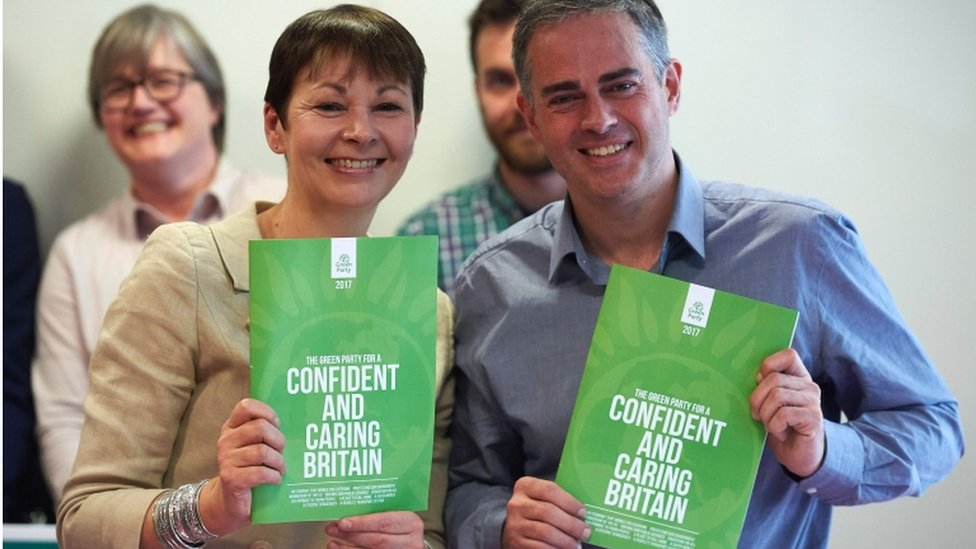 General election 2017: Green Party launch plan for 'caring Britain'