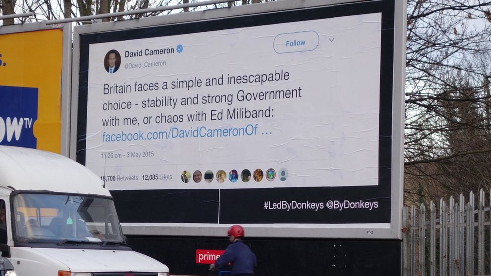 Led by Donkeys and Brexit Express: Why campaigners are using the humble billboard