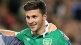 Shane Long and Robbie Keane