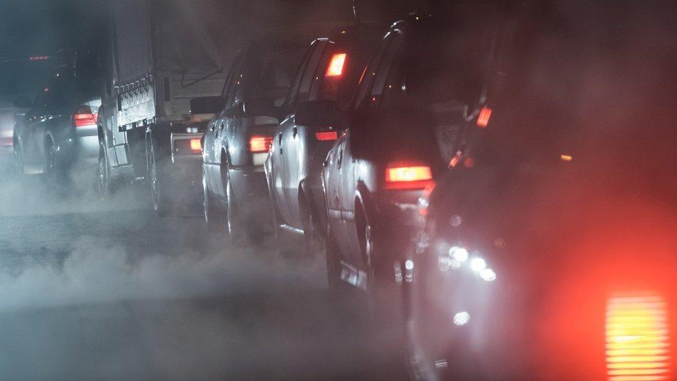 'Pollution zones' on Scottish streets