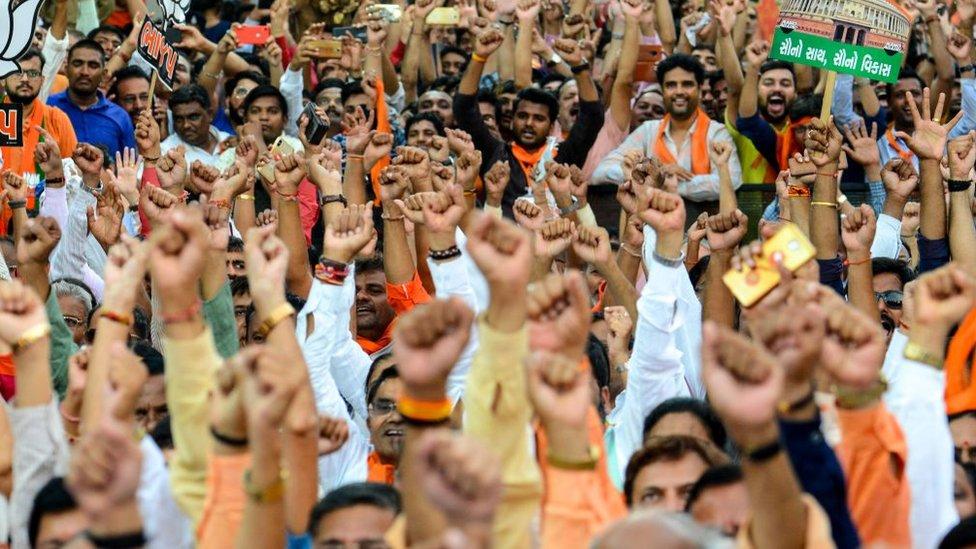 India's Modi in Varanasi to thank voters