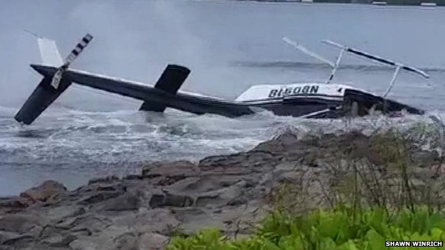 Hawaii helicopter crash leaves one hurt