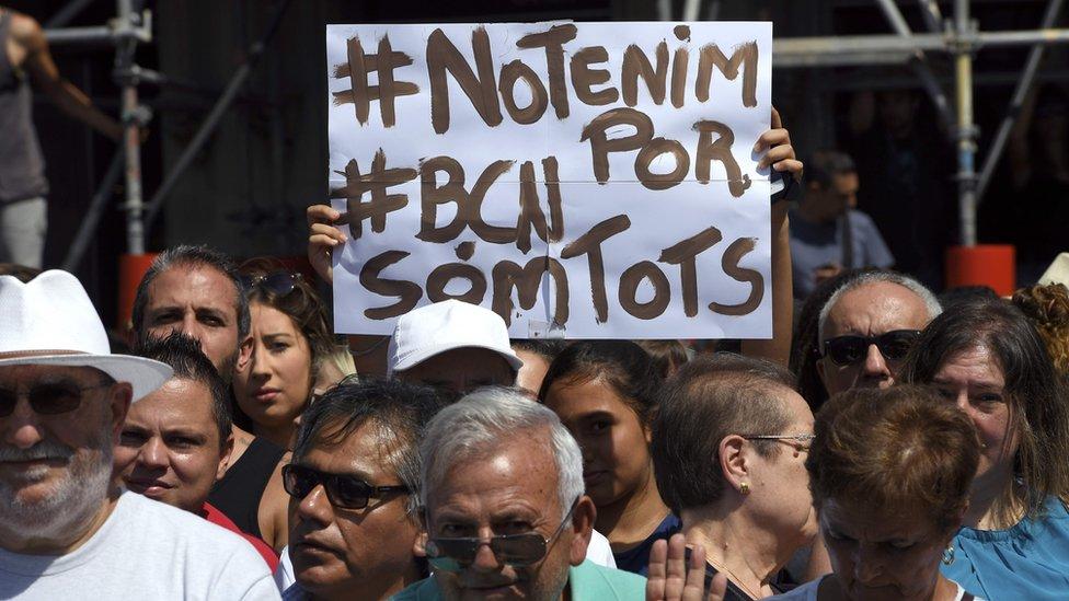 Barcelona and Cambrils attacks: 'I'm not afraid'