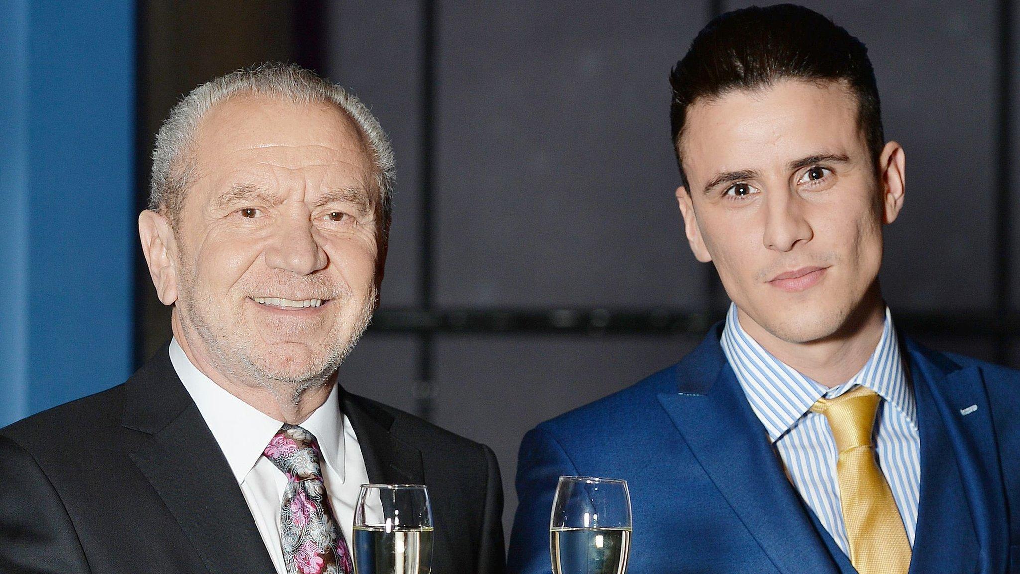 Lord Sugar splits from Apprentice winner
