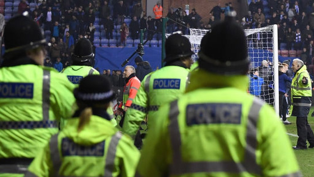 Football violence: National police lead for football warns disorder will continue to rise at grounds